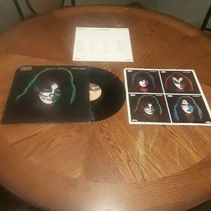 """KISS Peter Criss 12"""" LP 1978"""